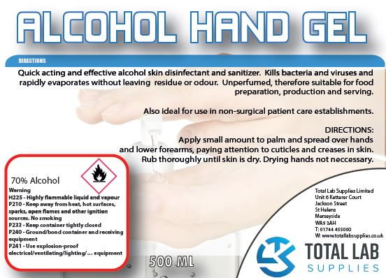 Special Offer – Alcohol Hand Sanitiser Gel